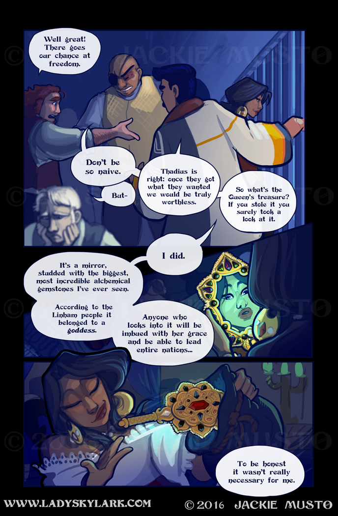 Lady Skylark and the Queen's Treasure - Page 219