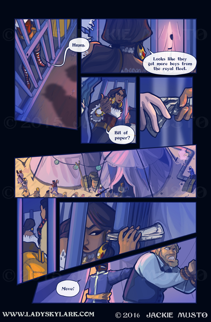 Lady Skylark and the Queen's Treasure - Page 223