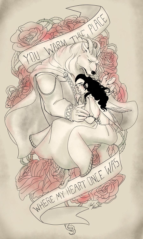 Fan Art: April Pierce