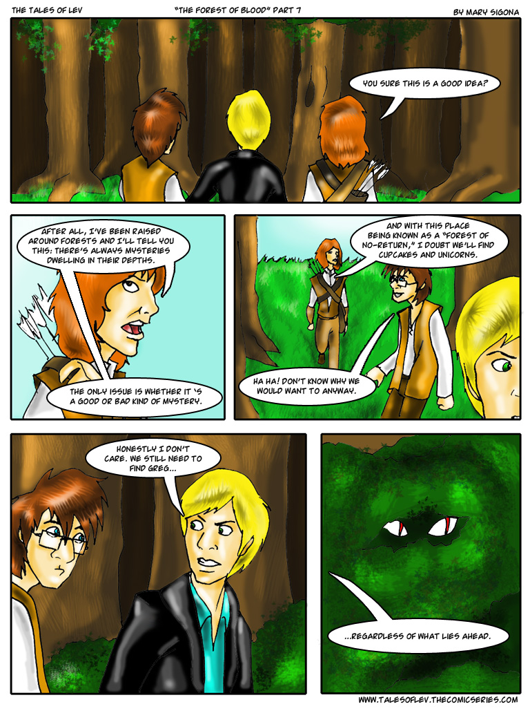 The Forest of Blood (Part 7)