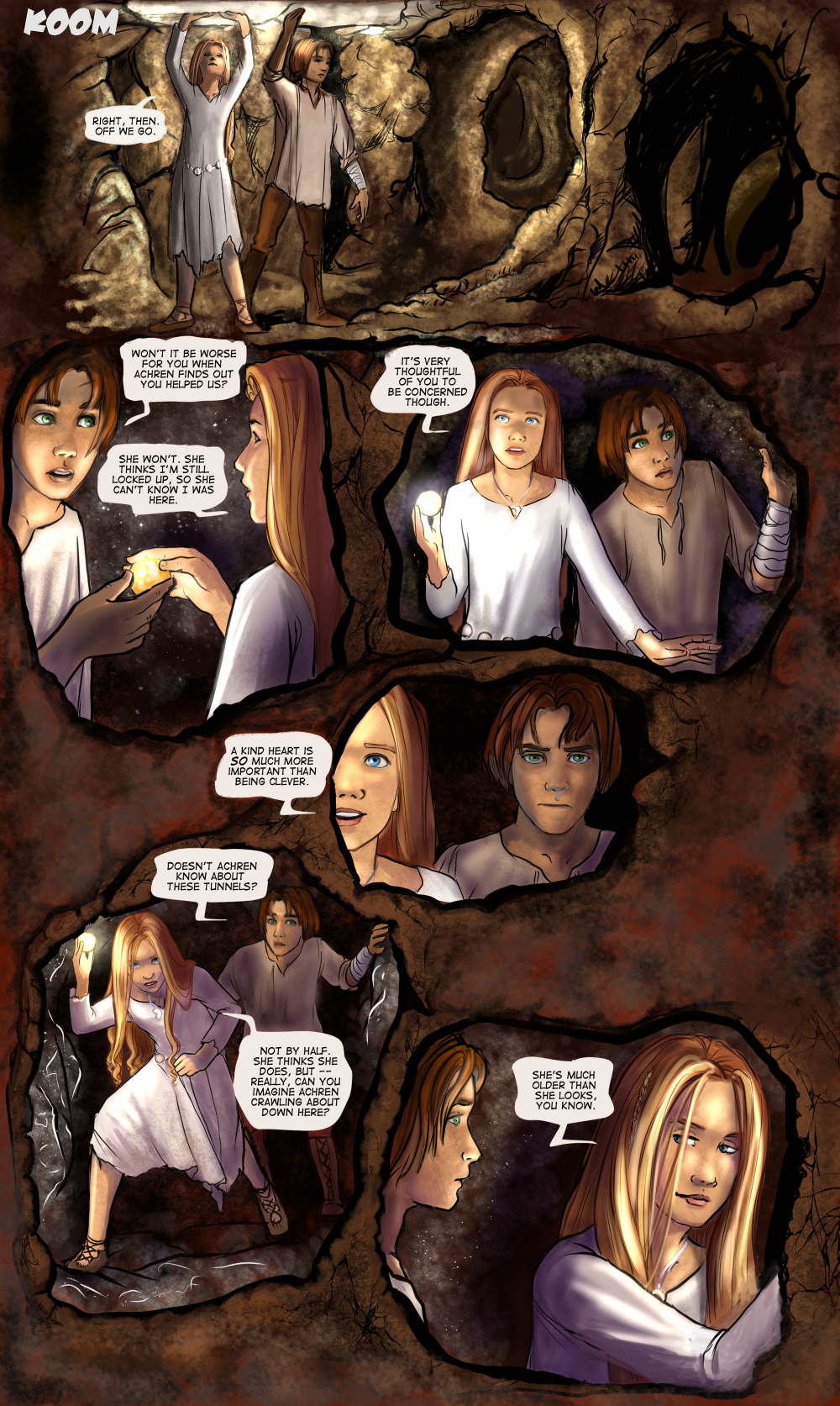 Chapter Seven: Page One
