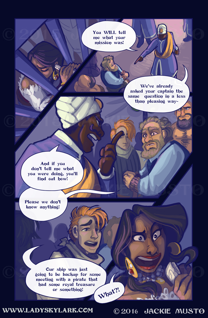 Lady Skylark and the Queen's Treasure - Page 224
