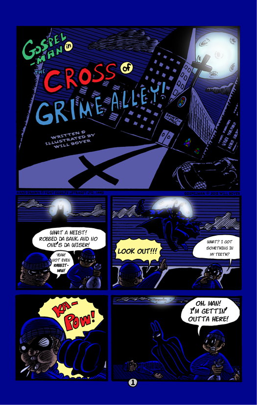 The Cross of Grime Alley page 01