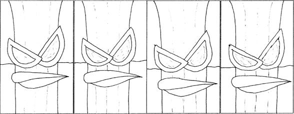 Four-Panel Zadok