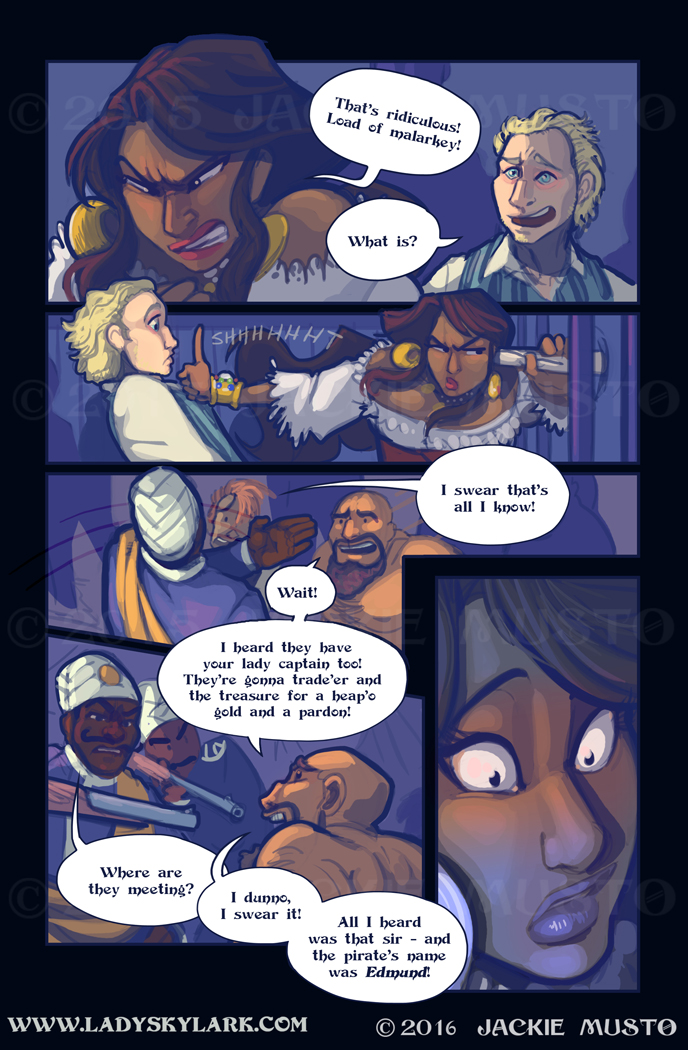 Lady Skylark and the Queen's Treasure - Page 225