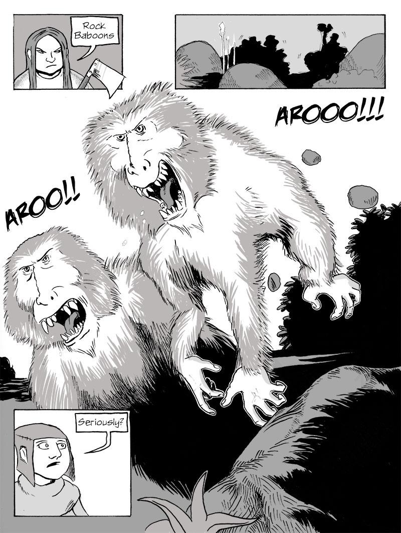 Rock Baboons