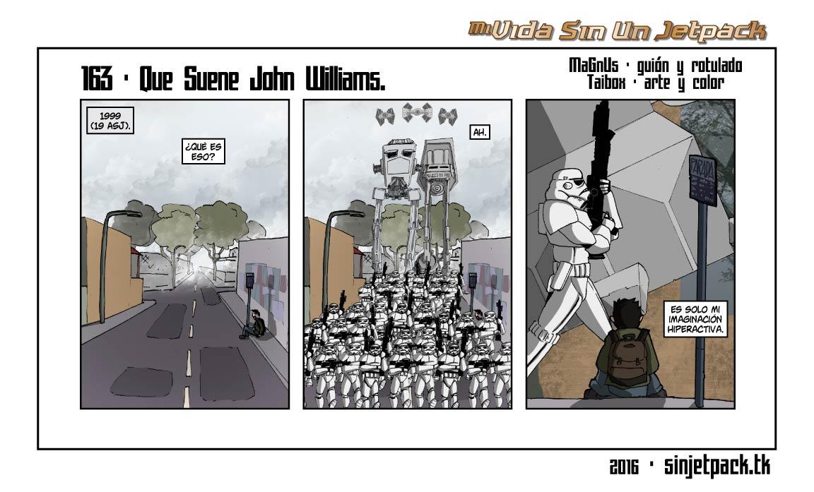 163 - Que Suene John Williams.