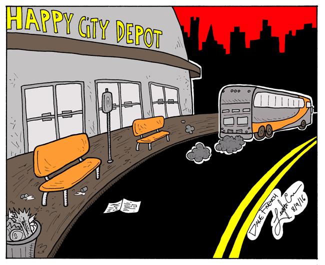 Leaving Happy City
