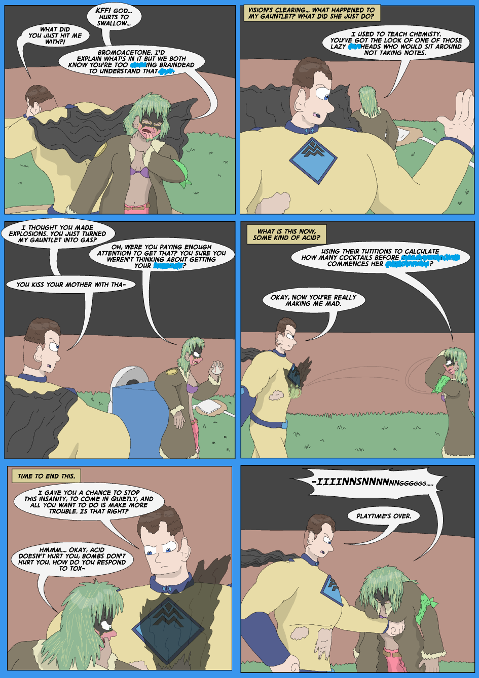 Tangled Up In Blue, Page 25