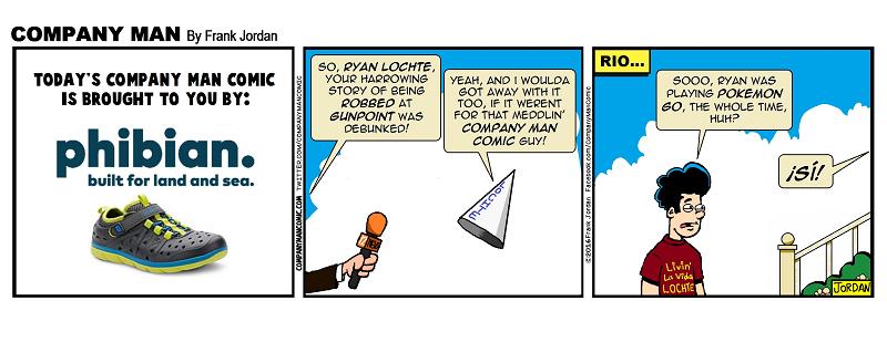 #RyanLochte is a fibber! 8/23/16