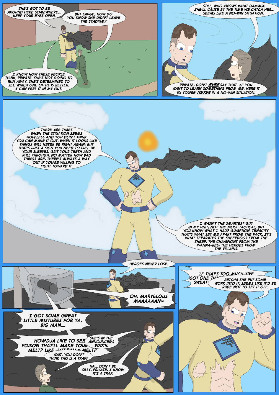 Tangled Up In Blue, Page 32