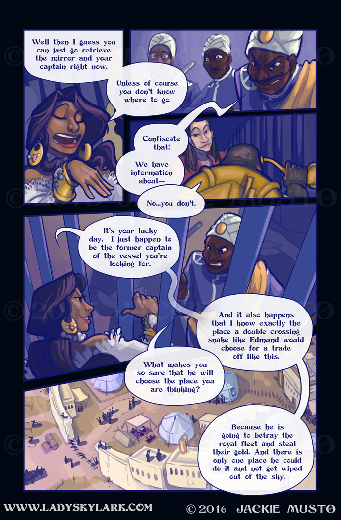 Lady Skylark and the Queen's Treasure - Page 229