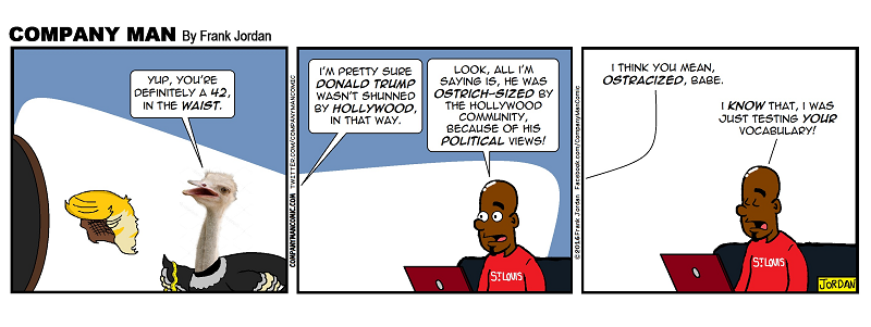 #Trump & the #Hollywood community. 9/14/16