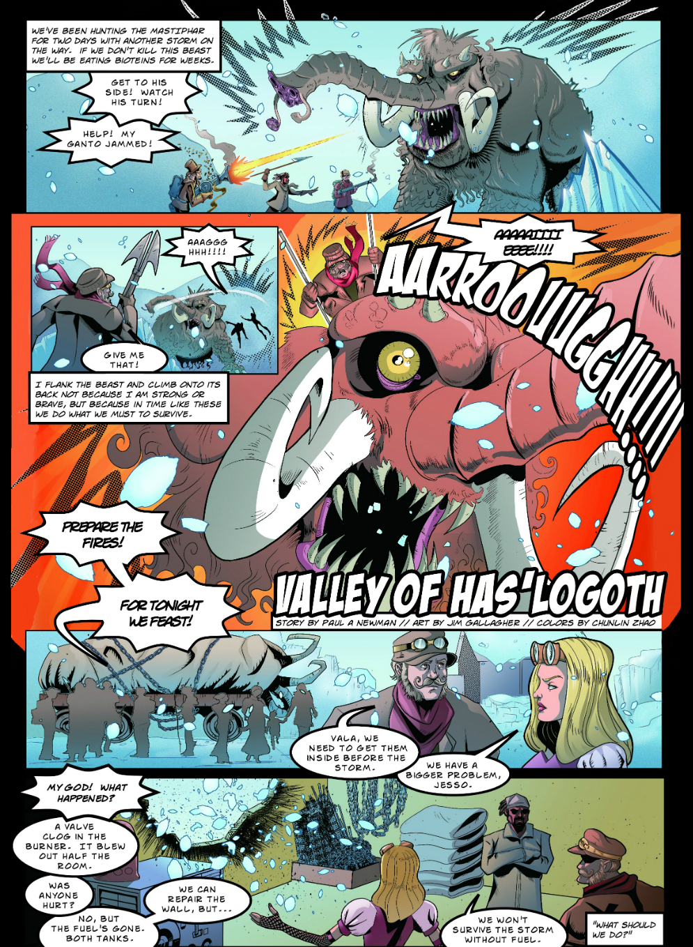 Valley of Has'Logoth page 1