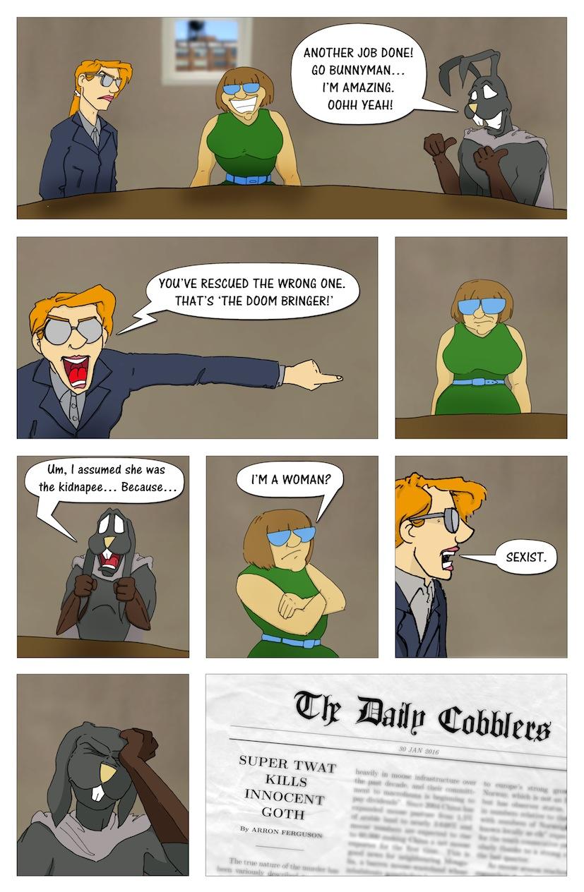 Bunnyman Vs. The Doom Bringer (Page 4 of 4)