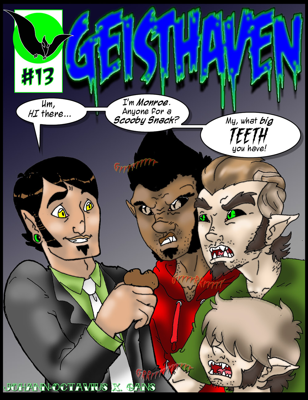 Geisthaven Cover
