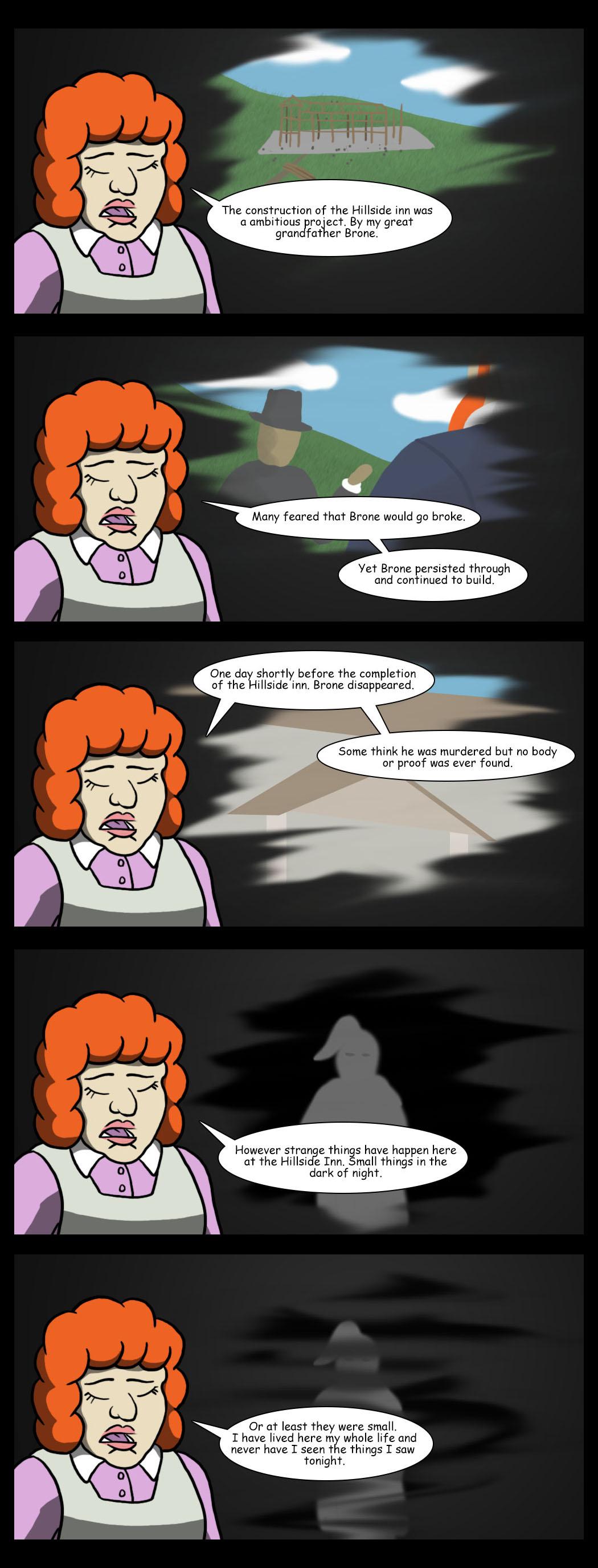 The mystery of the Hillside inn.
