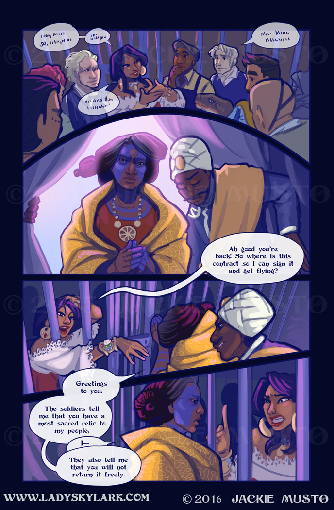 Lady Skylark and the Queen's Treasure - Page 233