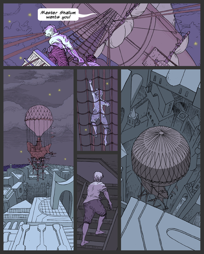 Descent into Luna