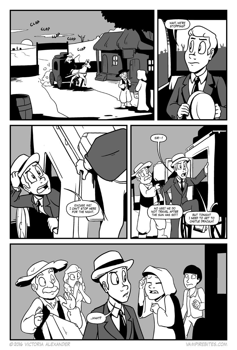 Dracula, pg 1