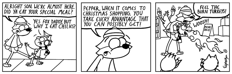 YULETIDE FOR PEPPER, PT 2 (BF #284)