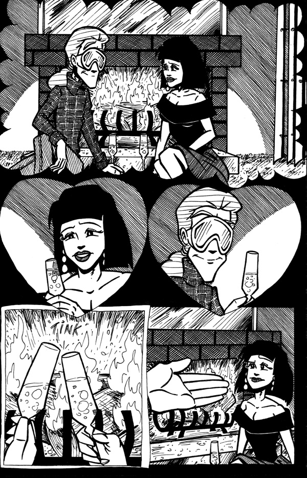 Shadows in the Rain - Page 1