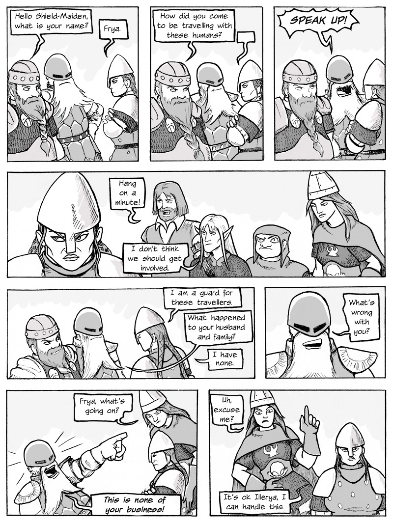 Confrontation with the Dwarf Brothers p.1