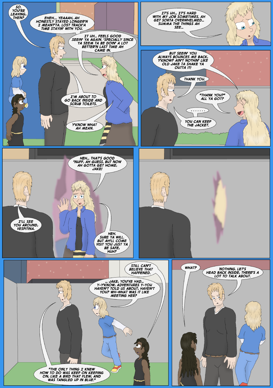 Tangled Up In Blue, Page 47