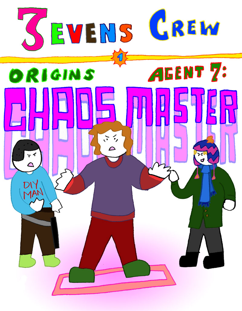 Chaos Master 1 Cover