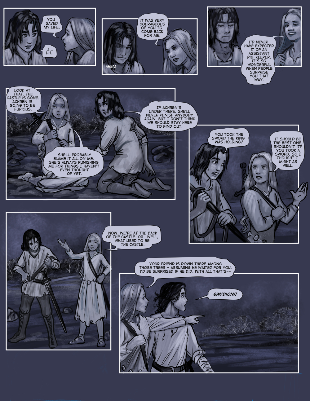 Chapter Eight: Page Fifteen