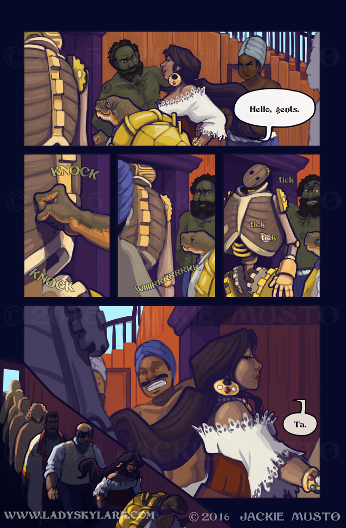 Lady Skylark and the Queen's Treasure - Page 238
