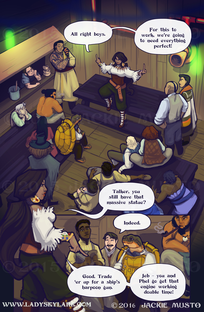 Lady Skylark and the Queen's Treasure - Page 239