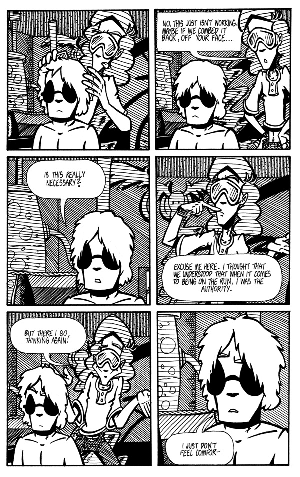 Fumbling Towards Escape - Page 2