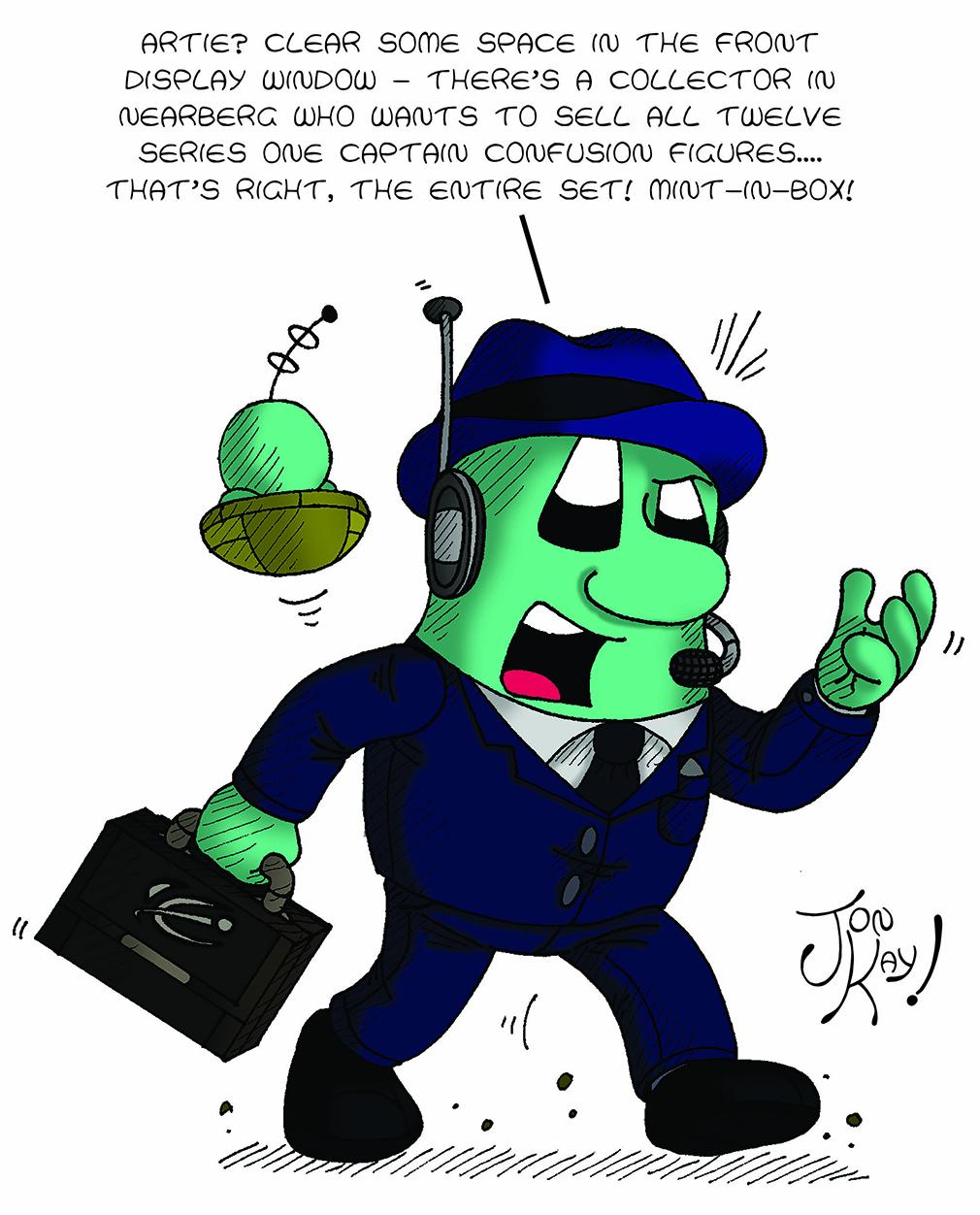Tony Corvell - master of toys!