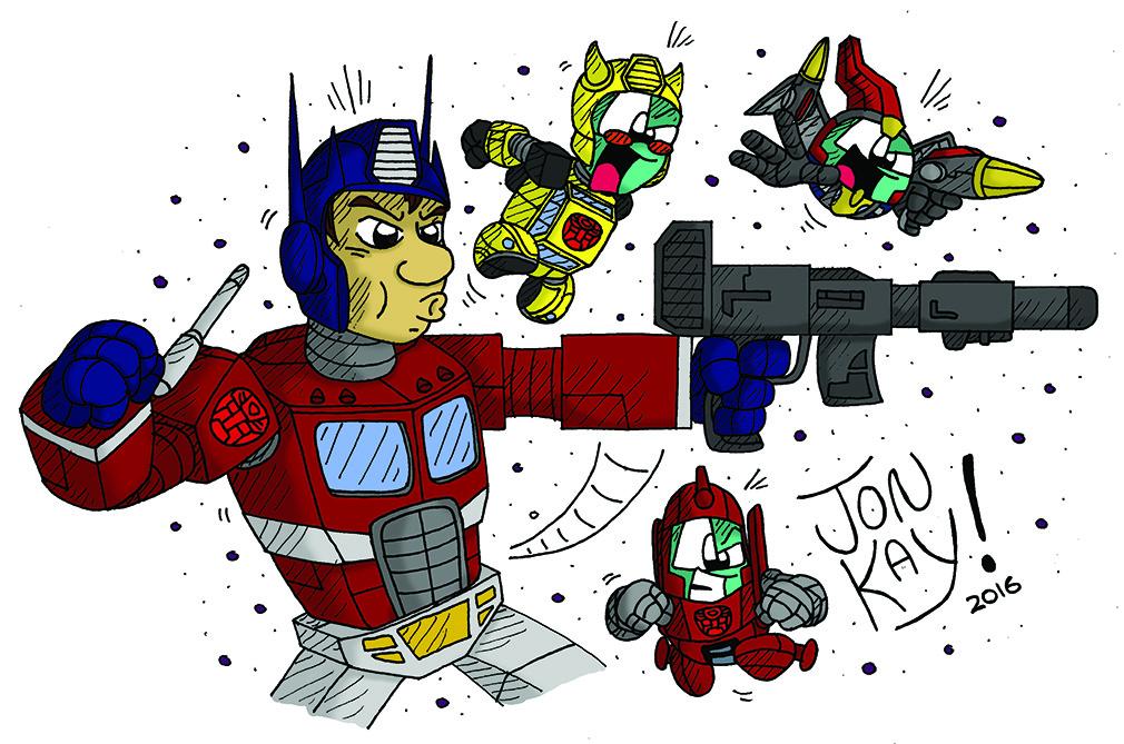 Robo-cosplay!