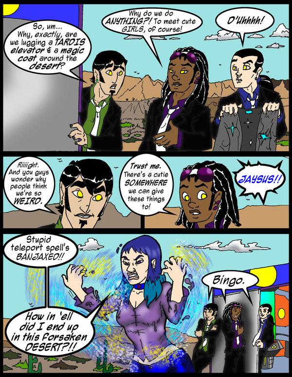 Misfits of Mischief meet Cernia