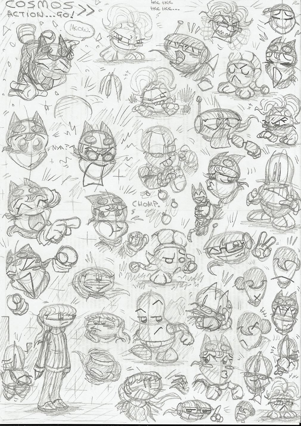 Character sketchbook 4
