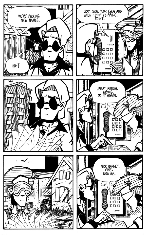 Fumbling Towards Escape - Page 10