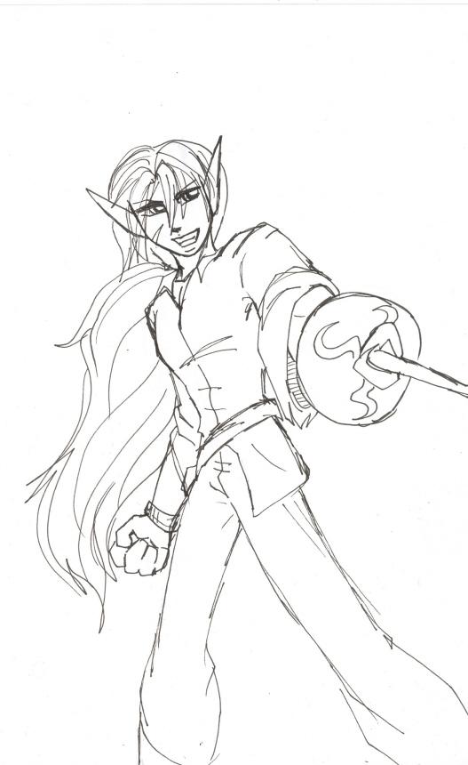 Fencing Morgan