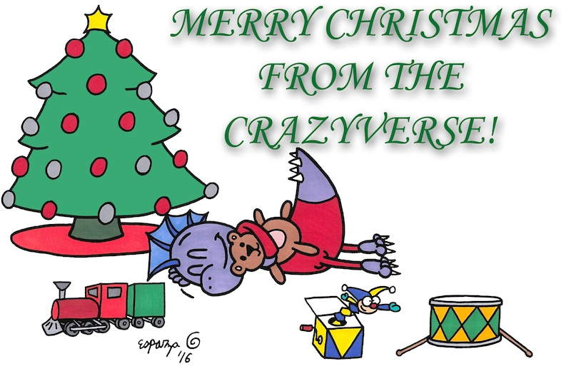 MERRY CHRISTMAS CRAZIES!!!