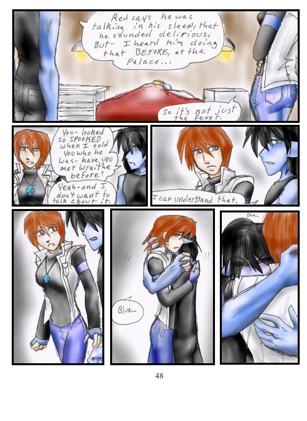 Blue needs a hug! =(