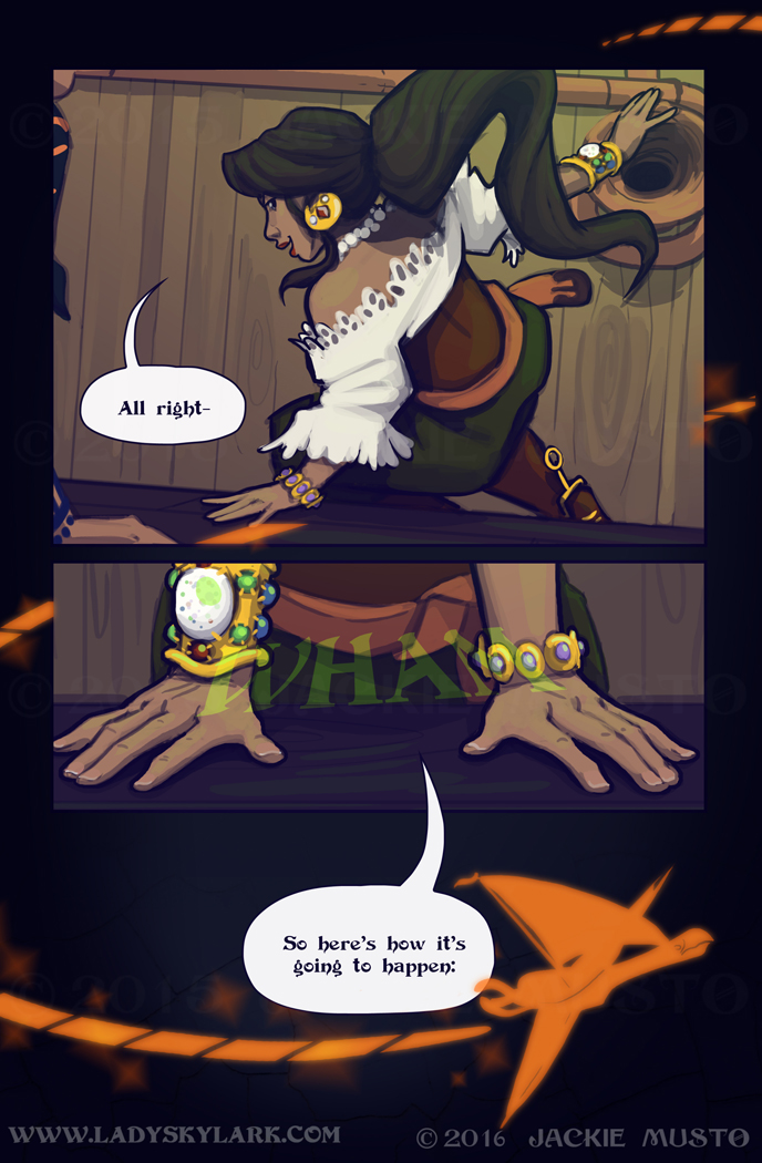 Lady Skylark and the Queen's Treasure - Page 241