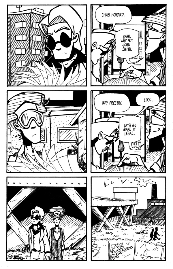 Fumbling Towards Escape - Page 11