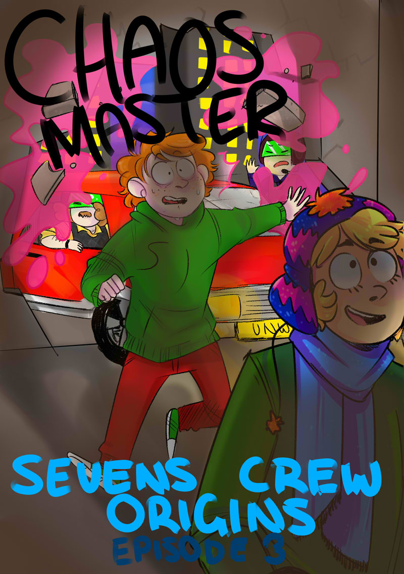 Chaos Master 3 Cover