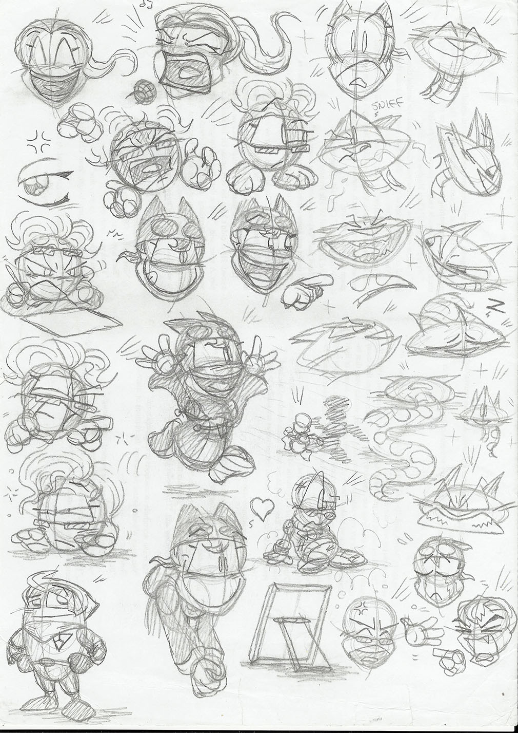 Character sketchbook 5