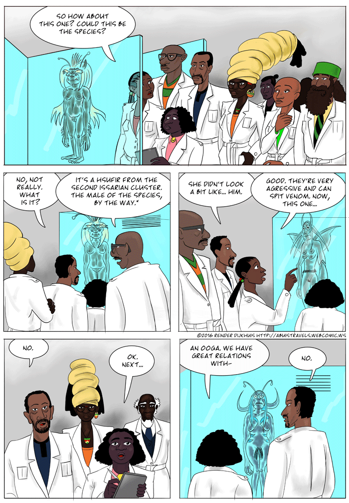 Xenobiologists grinding through the work
