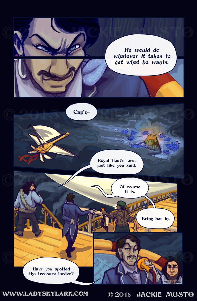 Lady Skylark and the Queen's Treasure - Page 245