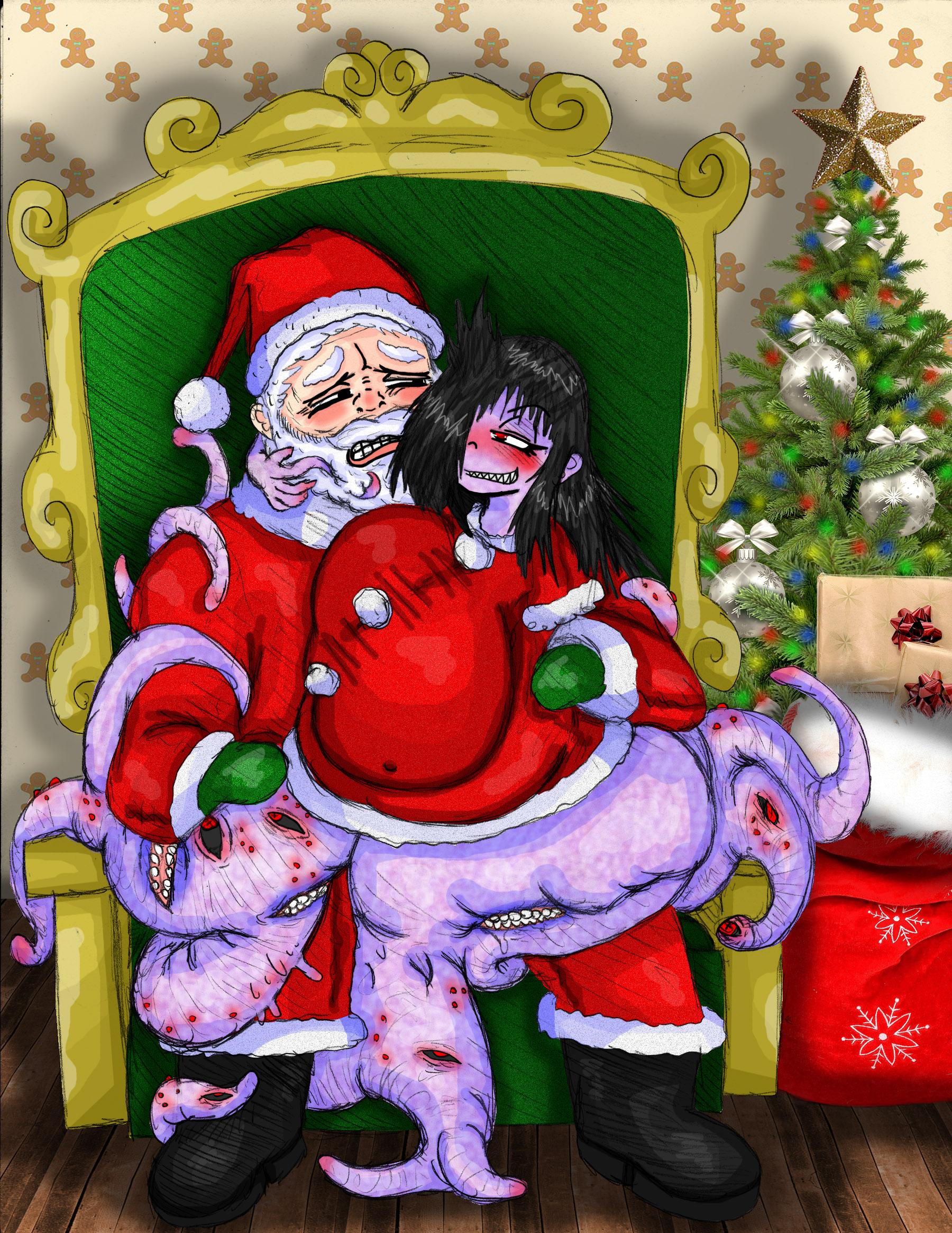 Laila and Santa