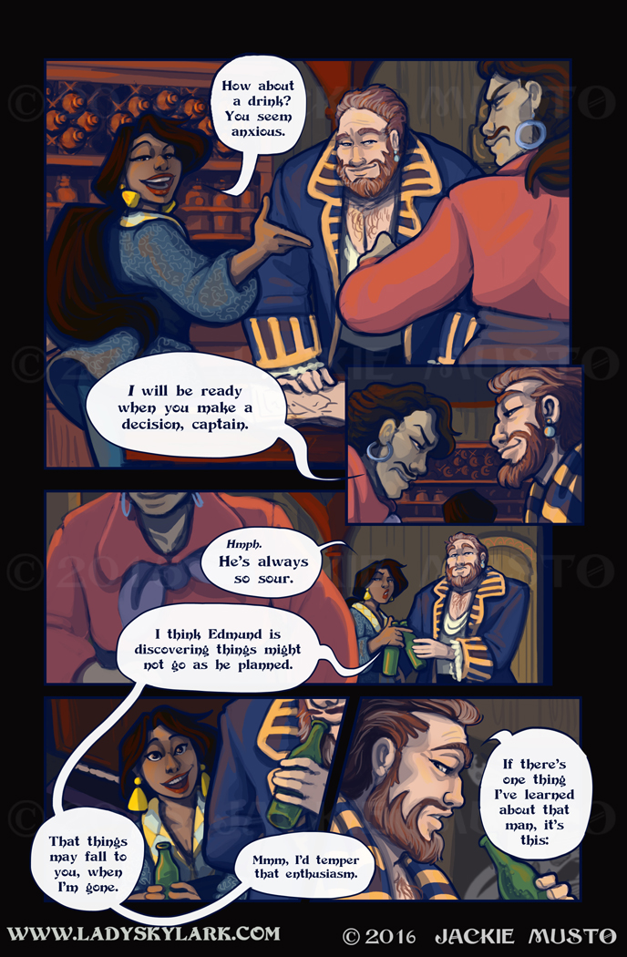 Lady Skylark and the Queen's Treasure - Page 244