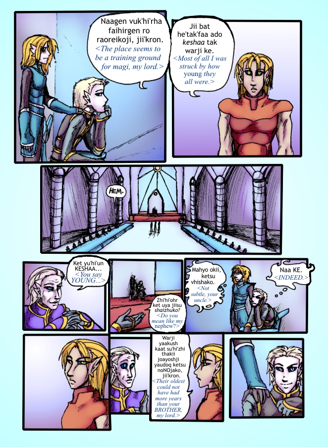 Out of the Darkness Ch 5 Page 8